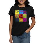 Coins Pop Art Women's Dark T-Shirt