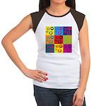 Coins Pop Art Women's Cap Sleeve T-Shirt