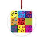 Coins Pop Art Ornament (Round)