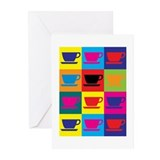 Coffee Pop Art Greeting Cards (Pk of 10)