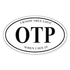 OTP Euro-style sticker