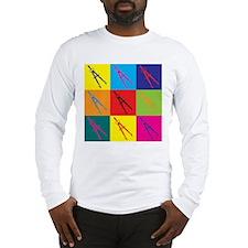 Civil Engineering Pop Art Long Sleeve T-Shirt