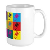 Bobsled Pop Art Mug