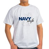 Navy Wife: Sailor's LOVE T-Shirt