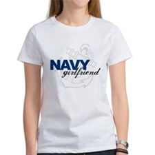Navy Girlfriend: Sailor's LOV Tee