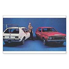 1970 Gremlin Rectangle Sticker 50 pk)