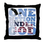 """One Nation Under God"" Throw Pillow"