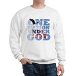 """One Nation Under God"" Sweatshirt"