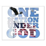 """One Nation Under God"" Small Poster"