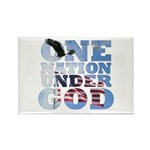 """One Nation Under God"" Rectangle Magnet"