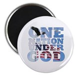 """One Nation Under God"" Magnet"