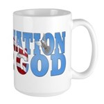 """One Nation Under God"" Large Mug"