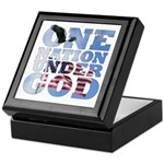 """One Nation Under God"" Keepsake Box"