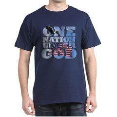 """One Nation Under God"" Dark T-Shirt"
