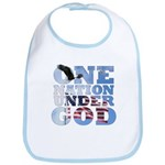 """One Nation Under God"" Bib"