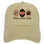 Peace Love Dogs Cap
