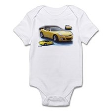 Yellow Saturn Sky Infant Bodysuit