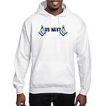 US Navy Masonic Hooded Sweatshirt