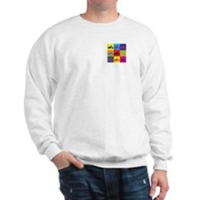 Biking Pop Art Sweatshirt