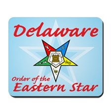 Delaware Eastern Star Mousepad