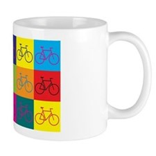Bicycling Pop Art Mug
