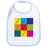 Bassoon Pop Art Bib