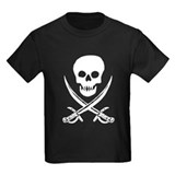 Skull &amp;amp; Swords (White) T