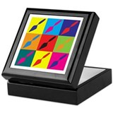 Archaeology Pop Art Keepsake Box