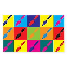 Archaeology Pop Art Rectangle Sticker 10 pk)