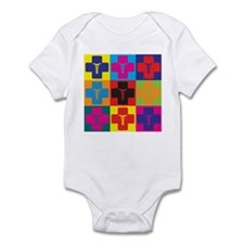 Anesthesiology Pop Art Infant Bodysuit