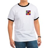 Air Traffic Control Pop Art T