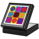 Air Traffic Control Pop Art Keepsake Box