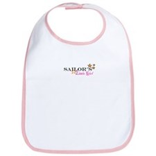 Sailor's Little Girl Bib