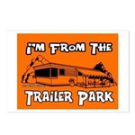 I'm From The Trailer Park Postcards (Package of 8)