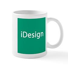 iDesign, Teal Interior Design Small Mug