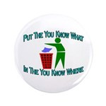 "You Know Where 3.5"" Button (100 pack)"