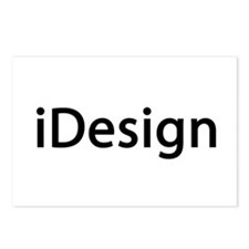 iDesign Interior Design Postcards (Package of 8)
