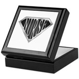 SuperNurse(metal) Keepsake Box