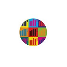 Actuarials Pop Art Mini Button (10 pack)