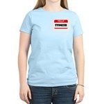HELLO MY NAME IS STINKER Women's Light T-Shirt