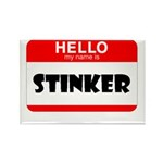 HELLO MY NAME IS STINKER Rectangle Magnet (10 pack