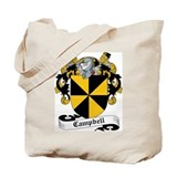 Campbell Family Crest Tote Bag