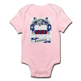 Carmichael Family Crest Infant Creeper