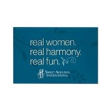 Real Women Rectangle Magnet (10 pack)