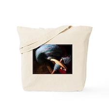 Blue Spindle Tote Bag