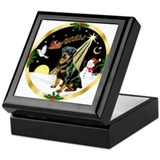 Night Flight/Rottweiler Keepsake Box