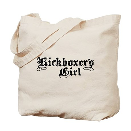 Kickboxer's girl Tote Bag