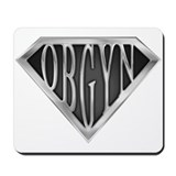 SuperOBGYN(metal) Mousepad