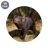 Tasmanian Devil 3.5&quot; Button (10 pack)