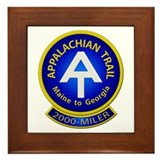 Appalachian Trail 2000-MILER Framed Tile
